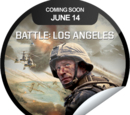Battle: L.A. on DVD Coming Soon (Sticker)