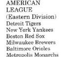 Metropolis Monarchs (Baseball)