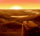 Lugares en The Lion King 1½