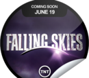 Falling Skies Coming Soon (Sticker)