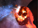 Fire rams into the Beast Planet.png