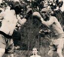 Бокс на ходулях