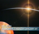 Today Show: January 1, 2001