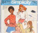 Simplicity 9478 A