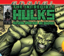 Incredible Hulks Annual Vol 1 1