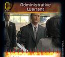 Administrative Warrant (1E)