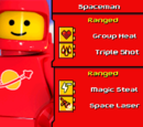 Red Classic Spaceman