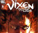 Vixen: Return of the Lion Vol 1 5