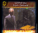Withdraw from Debate (1E)