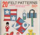 McCall's 20 Felt Patterns A