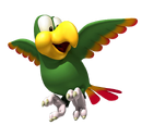 Squawks the Parrot