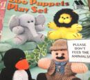 Annie's Attic 871014 Zoo Puppets Playset