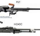 Coaxial machine gun