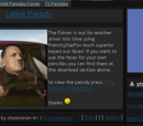 Hitler Downfall Parodies (website)