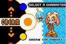 Cream character select Sonic Advance 2.jpg