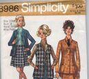 Simplicity 8986
