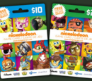 Nickelodeon Game Cards