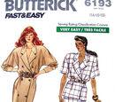 Butterick 6193 A