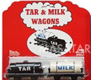 Tar and Milk Wagons