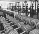 Xavier's Institute Weight Room