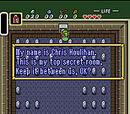 Legend of Zelda: A Link to the Past- Secret Room