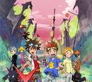 Digimon Xros Wars: Os Jovens Hunters que Saltam Através do Tempo