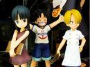 Robin, Luffy, Sanji as kids (from One Piece).jpg
