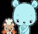 Mr. Fluffy and Mei Mei