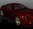 Alfa Romeo 8C Competizione (Driver: San Francisco)