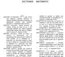 Dicționar matematic