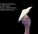 Letter Paper Airplanes