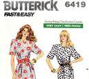 Butterick 6419 A