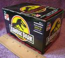 Jurassic Park Topps trading cards