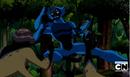 Simian peleando con los DNAliens Aracnochimpances.PNG