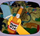 Duff Beer Advertiser