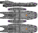 Manticore Class Light Battlestar