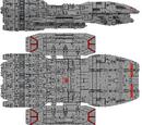 Poseidon Class Heavy Battlestar (D8)