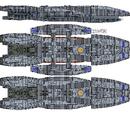 Galactica Type Battlestar