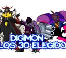 Digimon y los 30 elegidos 13: la zona marina. el primo de chibikamemon y terriermon