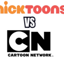 Nicktoons VS Cartoon Network