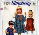 Simplicity 7331 B