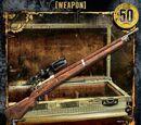 Single Shot Rifle w/Scope (WE-036)