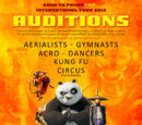 Images from Kung Fu Panda Live