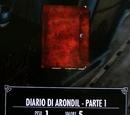 Diario di Arondil - Parte 1