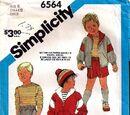 Simplicity 6564 A