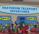 Heathrow Teleport Departures
