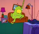 Alien (couch gag)