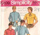 Simplicity 8209 A