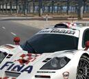 BMW McLaren F1 GTR Race Car '97