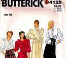 Butterick 4125 B